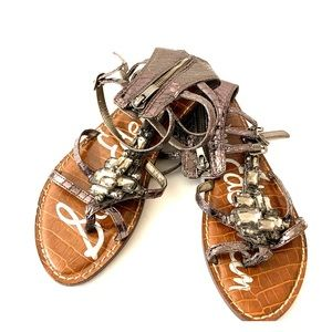Sam Edelman Jeweled Flat Sandals